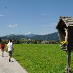 Hiking back to Inzell
