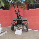  Kumasi Fort - Anti-Aircraft Gun Located Streetside