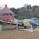 Kumasi Fort - Ghana Air Force Jet & Chopper