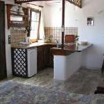 the kitchenette of apartement