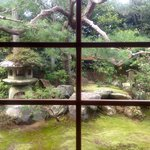  Garden view from meditation room