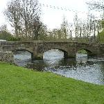 17th Century foot bridge into Bakewell
