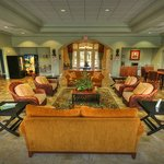  The beautifully furnished clubhouse