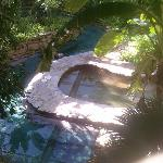  One of the spas outside my room