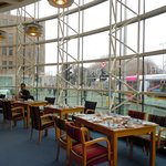 Lovely breakfast bistro of St. Stephen's Green O'Callaghan hotel
