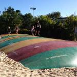  jumping pillow - kids had a blast on this!!!