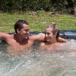 Aahhh how good is this hot tub?