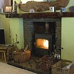 Log burners and central heating