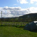  Langcliffe Park view from tent pitches
