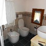 Bathroom (with shower box)