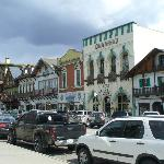 Main  street of the town