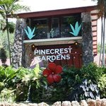  The front of Pinecrest Gardens