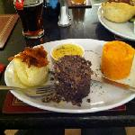 Haggis at the Rod & Reel next door