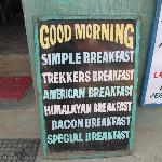 Breakfasts are great and cheap