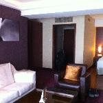 My room, sofa area and entrance