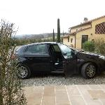 Parking - Tenuta Tizzauli - March 2012