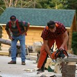 Jack Pine Lumberjack Show