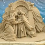 Sand Nativity