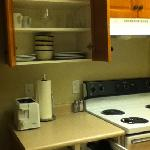  great kitchen for a hotel! all you need is here.
