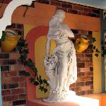 Just an example of the many Renaissance inspired statues around our resort.