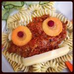 Pasta Bolognese for kids