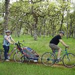 Biking is a great way to enjoy Bidwell Park