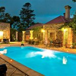 Outdoor Pool and Spa Area