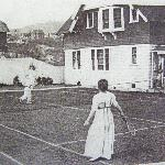  Black Bear Tennis court 1902