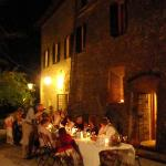 Wedding dinner. Enrico the host is a wonderfull cook