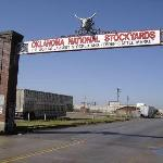Entrance to Oklahoma National Stockyards