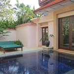 Pool in Double room Villa