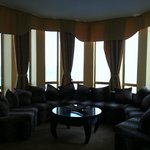 Corner room over looking the Black Sea. Great for entertaining friends!