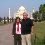 our guests in agra Tajmahal