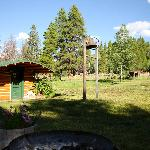  Dinner Bell and wood burning Sauna with two rooms