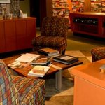 Come relax in our comfortable visitor lounge!