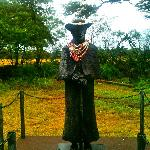 Statue of Father Damien at St. Joseph's Church - Molokai