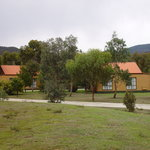  Motel grounds with 2 bedroom lodges