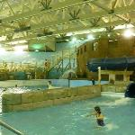 Indoor wave pool before proposed expansion
