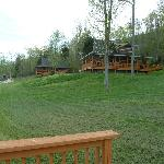  Cabins are somewhat close together if the neighbors are noisy.