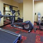 Onsite fitness room to maintain your exercise routine while traveling
