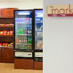 Shop the market for snacks and convenience items