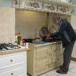  Richard Cooking a a good breakfast!