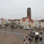  Blick aus dem Hotelzimmer auf den Markt