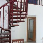  Spiral staircase to bedroom 3 with dbl folding bed