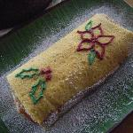Christmas Guava Pineapple Jelly Roll