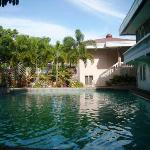 Poolside and hotel grounds