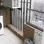  Washer-dryer on balcony