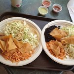  #1 two fish tacos with sides