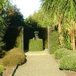  Sculptured garden. Take a walk here, you never know what you will stumble upon.