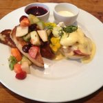 The Duo - Carribean French Toast & Eggs Benedict